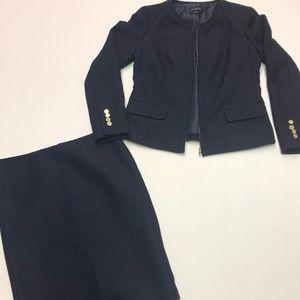 Talbots Jacket & Skirt Seasonless Two Piece Size 4